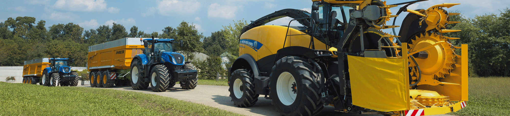 New Holland Agricultura Manto Maquinaria